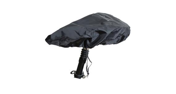 Sattel Regenüberzug schwarz